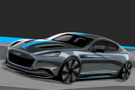 Aston Matin Car : All-electric Aston Martin Rapide Confirmed For Production
