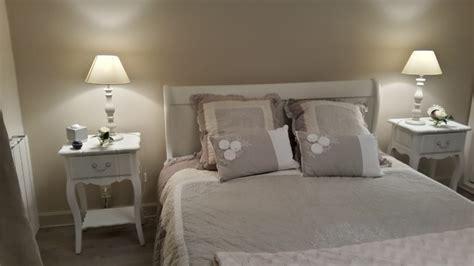 image de chambre romantique chambre gris et blanc romantique design de maison