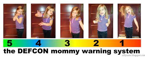 Alert! Alert! The Defcon Mommy Warning System