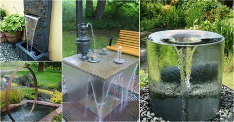 inspired   stunning garden fountain ideas