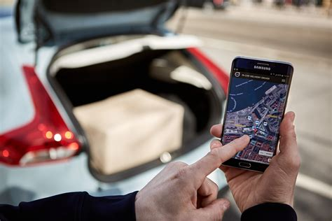 volvo cars pioneers  hour  car delivery service