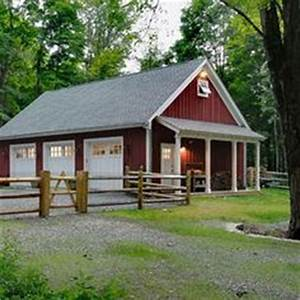 1000 images about barn guest house on pinterest barn With 3 bay pole barn