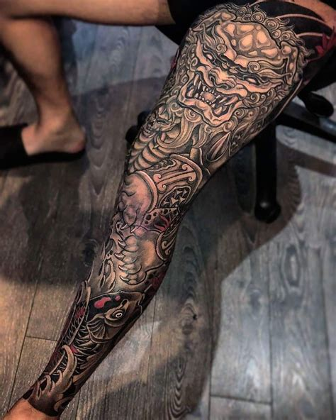 pin  jordan barton  tattoo pinterest tattoos leg