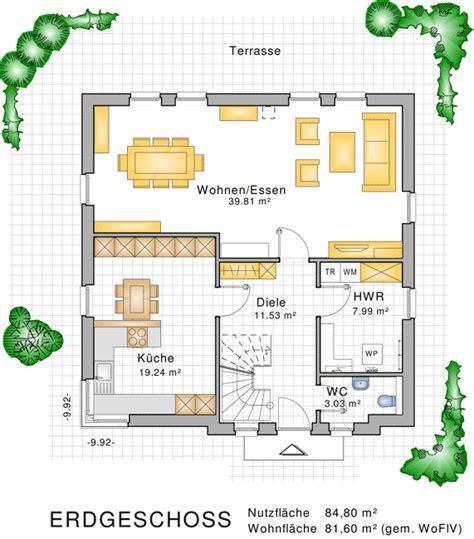 Grundriss 160 Qm by Stadtvillen Im Mediterran Toskanischen Baustil
