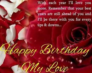 Romantic Greetings Birthday Wishes For Boyfriend - NiceWishes