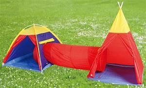 Spielzelt Für Kinder : kinder indianerzelt spielzelt kinderzelt zelt tunnel ebay ~ Whattoseeinmadrid.com Haus und Dekorationen