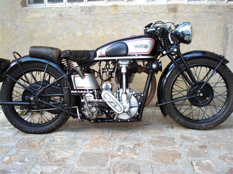 Tony's 1930 Model Cs1 Norton