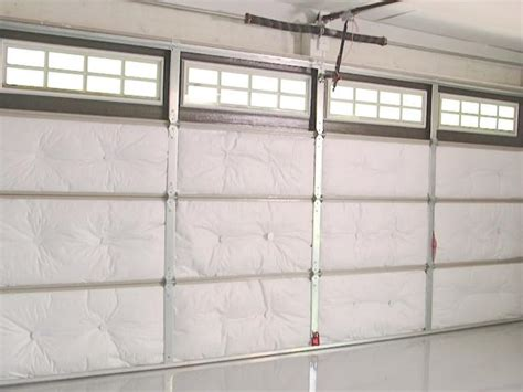 How To Put On Garage Door by How To Insulate A Garage Door How Tos Diy