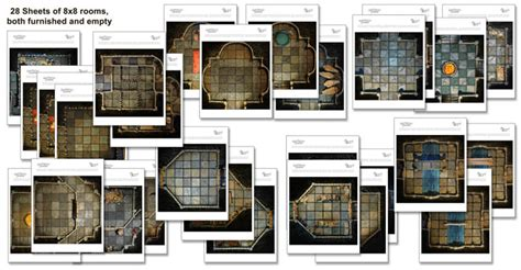 Dungeons And Dragons Tile Sets Pdf by Basic Dungeon Tiles Set 2 Handcrafted Dungeons By