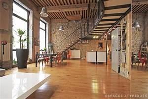Espace Atypique Lyon : en images a vendre loft canut au coeur de lyon ~ Carolinahurricanesstore.com Idées de Décoration