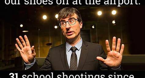 John Oliver Memes - john oliver meme on gun control