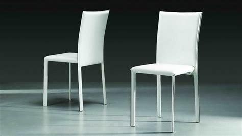 teindre canapé cuir elis chaise design simili cuir blanche 05 mobilier cuir