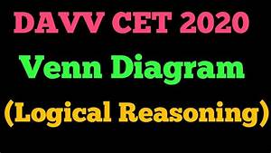 Davv Cet 2020 U0964venn Diagram U0964logical Reasoning