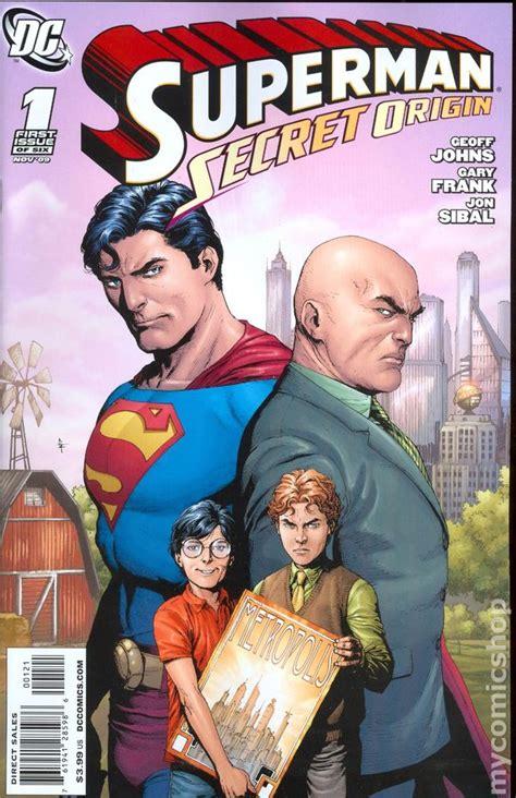 superman secret origin  comic books