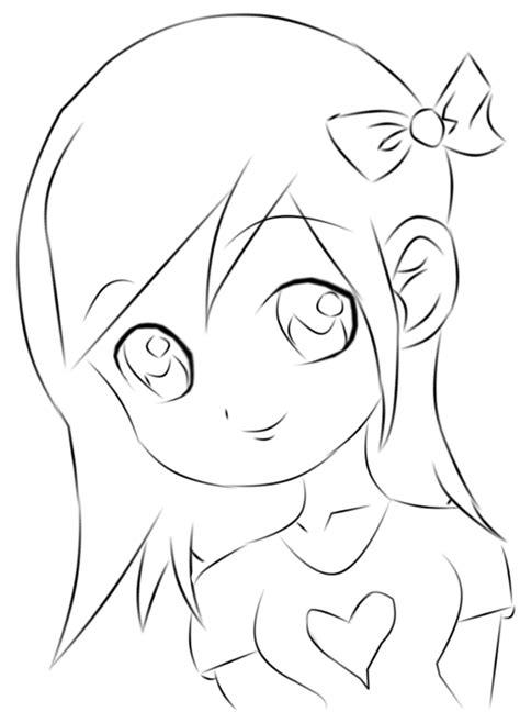 anime girl chibi displaying  images  easy