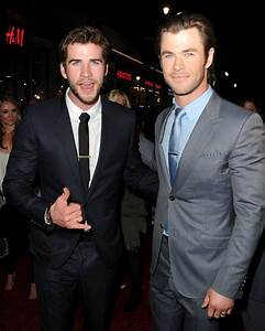 Liam Hemsworth supported his big brother Chris at the ...
