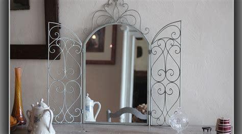 miroir en fer forge miroir marquise en fer forg 233