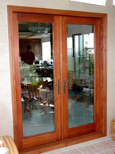 Wood Double French Doors 11 Prehung