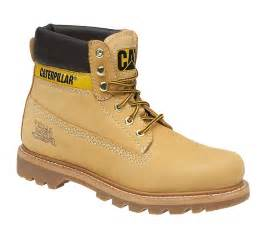 cat shoes mens caterpillar cat colorado leather classic work walking