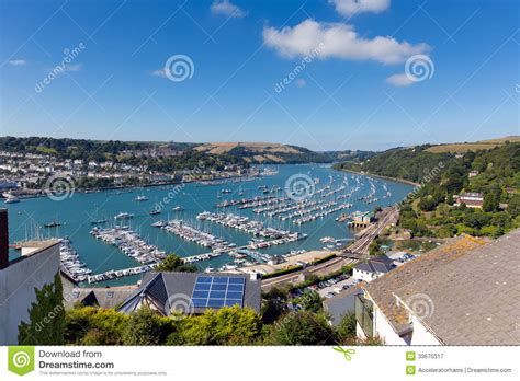 Boat Transport Dartmouth by Dartmouth And River Dart Harbour Uk Royalty