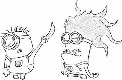 Minion Minions Evil Draw Drawing Stuart Despicable