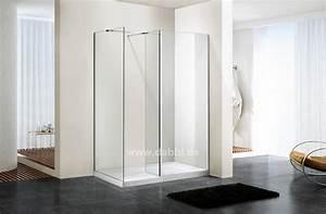 Porte de douche en verre sans cadre my blog for Cabine douche sans porte