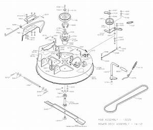 Dixon Zeeter 30  2004  Parts Diagram For Mower Deck