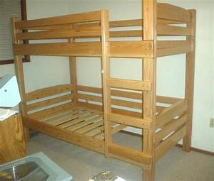 Plans for built in bunk bed de frame