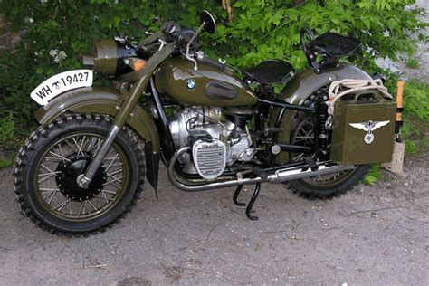 German Bmw Motorcycle/russian's Copied This Bike Exactly