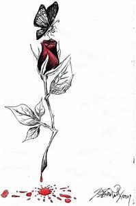 Bleeding Rose by KCJoker33 on DeviantArt