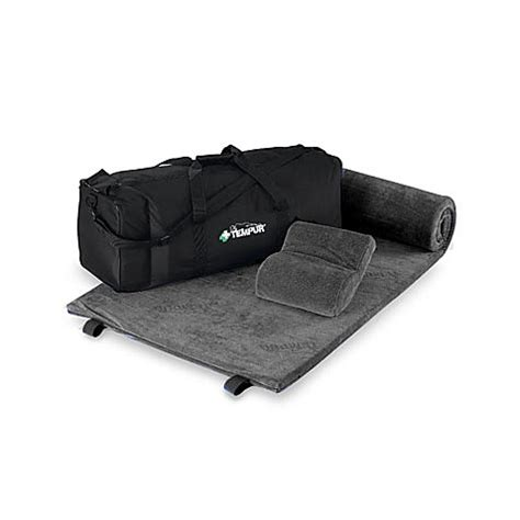 tempur pedic travel pillow tempur pedic 174 travel set bed bath beyond