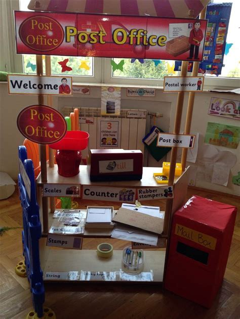 role play area post office role play areas pinterest