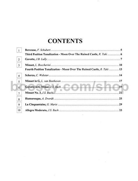 Suzuki Cello Book 4 by Suzuki Shinichi Cello School Vol 3 Revised Edition