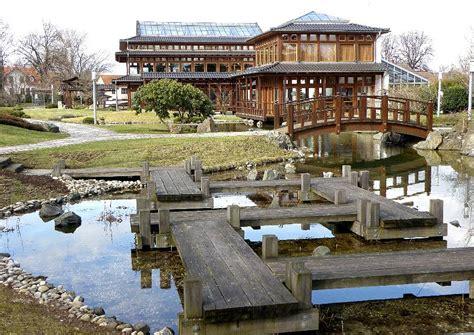 Japanischer Garten Bad Langensalza Hochzeit by Japanischer Garten Holzstegbr 252 Cke Gegen B 246 Se Geister