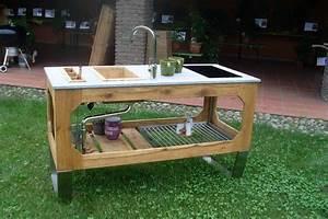 Outdoor Kitchen Selber Bauen : k chenm bel selber bauen ~ Lizthompson.info Haus und Dekorationen