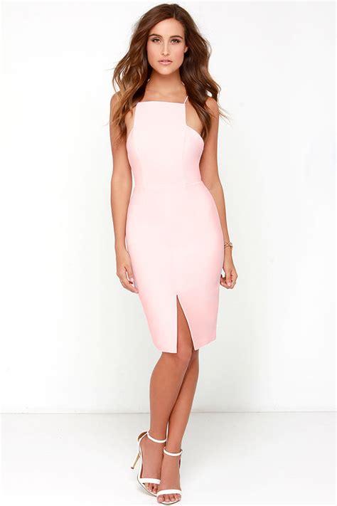 light pink midi dress keepsake restless heart dress light pink dress midi