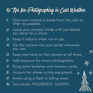 10 Tips for Photographing in Cold Weather