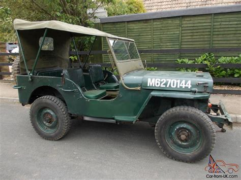 ford gpw willys jeep   british army ww