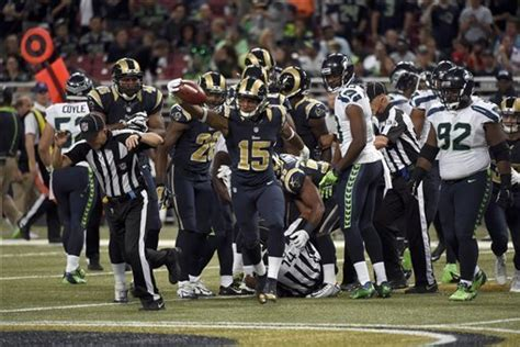 seahawks  rams seattle grades notes  quotes