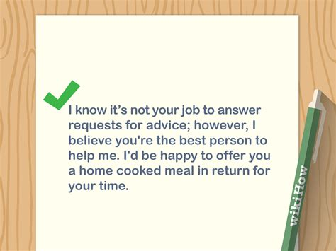 3 Ways To Write A Letter Asking For Advice