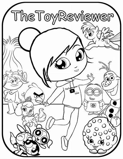 Coloring Pages Thetoyreviewer Pikmi Pops Colouring Toy