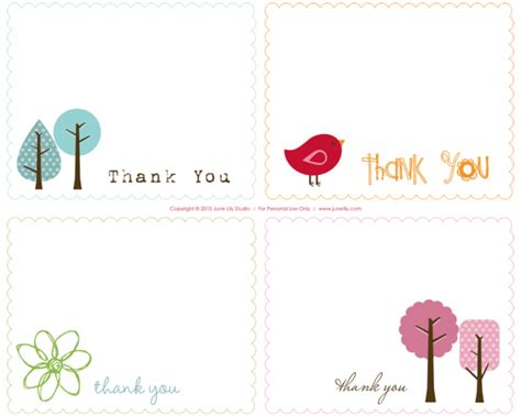 printable   notes june lily design