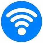 Wifi Oceaan Succesvolle Testen Icon App Zeilen