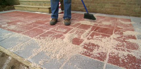 installing a patio minimalist how to lay a paver patio today s homeowner