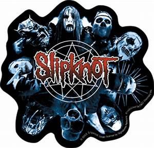 Slipknot Band Faces Logo Sticker