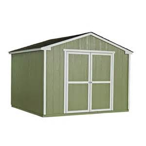 shop heartland liberty gable engineered wood storage shed