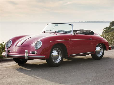 old porsche speedster porsche 356 a 1600 convertible d by drauz