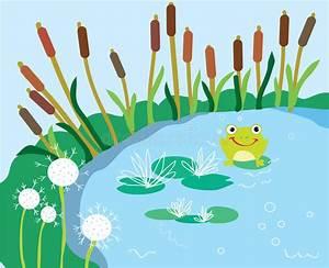 Frosch Bilder Lustig : seekarikatur mit der lilie und frosch lustig vektor abbildung illustration von flora ~ Whattoseeinmadrid.com Haus und Dekorationen