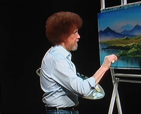 Bob Ross- Happy Clouds And Happy