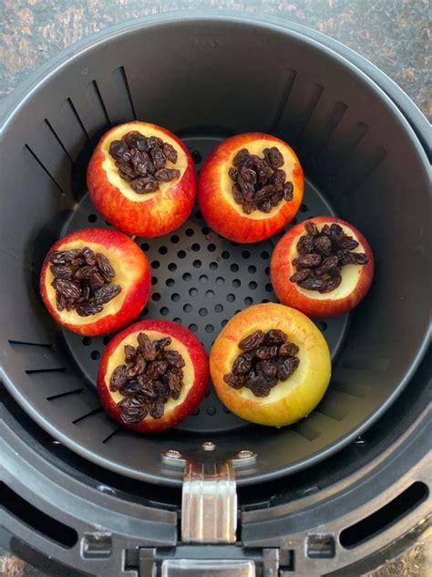 air fryer apples baked apple recipe melaniecooks cinnamon fry fried